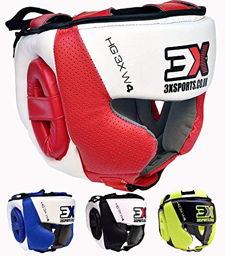 3X Professional Choice Boxeo Casco MMA Krav Maga Kickboxing Sparring Protector Entrenamiento Lucha Taekwondo...