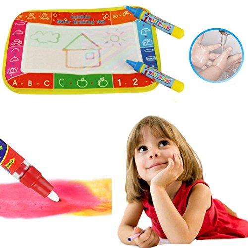 Kleinkind Magnetische Zeichnung (Omiky® Neue Wasser Zeichnung Malerei Schreibmatte Bord Magic Pen Doodle Geschenk (Mehrfarben))