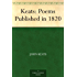 Keats: Poems Published in 1820 (English Edition)
