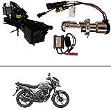 #4: AutoStark Premium Quality HID Xenon kit Bike-Motorcycle-Headlight White 8000k / HID Xenon Conversion Kit Headlight Lamp Bulbs 8000K For Honda CB Shine