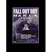 Stick It On Your Wall Fall Out Boy - March 2018 Dates - Mania Tour Mini Poster - 40.5x30.5cm preiswert