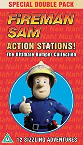 Fireman Sam - Action Stations (The classic original series) [VHS]