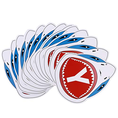 L_shop Shark Banner Meer Thema Geburtstag Dekoration Banner Pool Party Girlande Bunting Shark Party Supplies