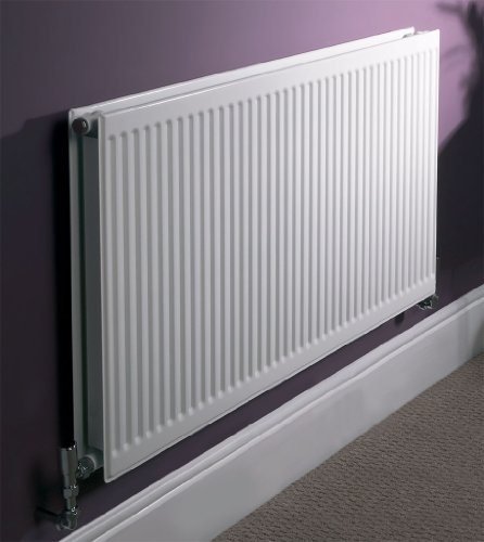 700x900mm Quinn Round Top White Compact Radiator - Double Panel & Double Convector