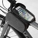 JIANGfu-Borsa-Telaio-Bici-Wheel-Up-6-inch-Porta-Cellulare-Bici-Borsa-da-Manubrio-per-Biciclette-Borse-Biciclette-Supporto-Bici-Accessori-Bici