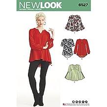 New Look 6527 – Cartamodello per Tunica da Donna in Due Lunghezze c878353b07bc