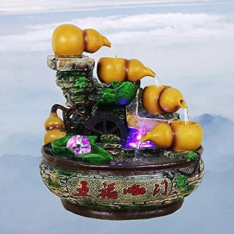 MYM Fortunato Chau rocaille e acqua fontane di acqua tavoli arredamento casa regali ufficio di (Tavolo Cornucopia)