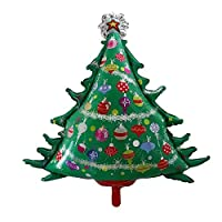 Party R Us Giant Christmas Tree, Christmas Tree Airwalk Foil Balloon (92cm or 36inch)