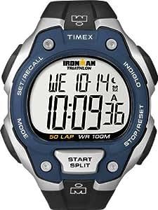 Timex Herren-Armbanduhr XL Lap Timer Sportchronographen Digital Kautschuk T5K496