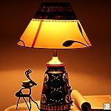 Teracotta Madhubani Handpainted Lamp