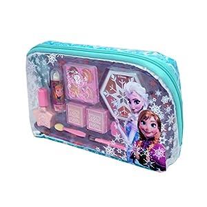 51Z8Q1PVU5L. SS300  - Disney Frozen-9341110 Frozen neceser con maquillaje, 20.6 x 12.4 x 4.6 (Markwins 9341110)