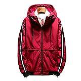 serliy Herren Herbst Winter Style Lose Kapuzenmantel Large Size Jacket
