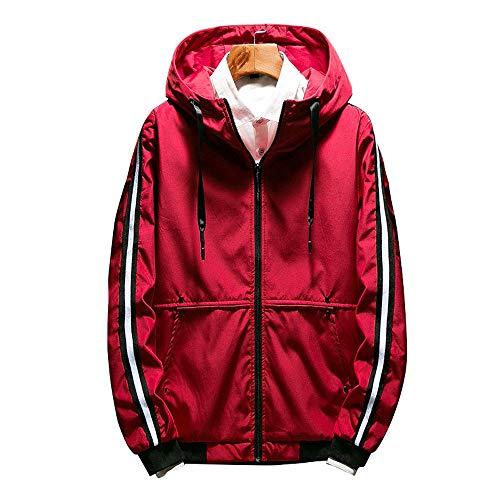 serliy Herren Herbst Winter Style Lose Kapuzenmantel Large Size Jacket Coat Casual Pant Pant Langarm Tragen Lässige Anzug Tragen Lässige Kleidung Kleid langärmlig Knopfleiste schöne Langarmshirts