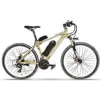 YRWJ Bicicleta Eléctrica 26 Pulgadas 36/48 V De Aluminio Bicicleta De Montaña para Adultos