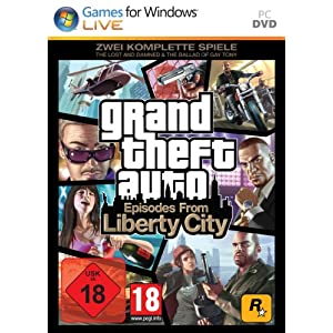 "Grand Theft Auto: Episodes from Liberty City – Zwei komplette Spiele: ""The Lost and Damned"" + ""The Ballad of Gay Tony"""