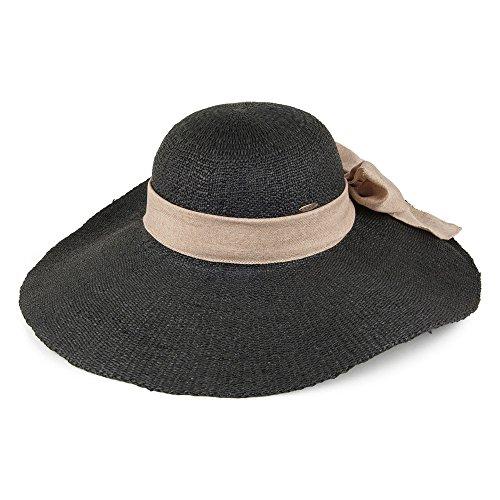 chapeau-dete-a-bord-large-et-noeud-en-lin-noir-scala-ajustable