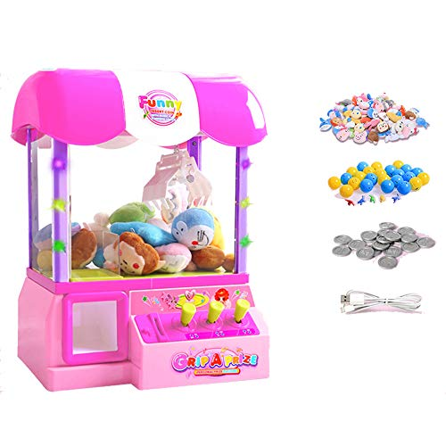 6120d8c5de ZMH Bambini Mini USB Candy Grabber in Casa Giochi per Bambini Moneta ...