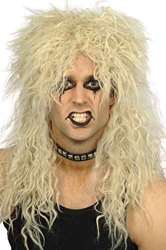 Smiffy's Hard Rocker Blonde Wig
