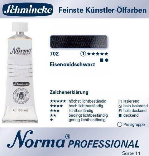 Chartpak 11220009Norma Prof 35ml Paint Black Iron Oxide -