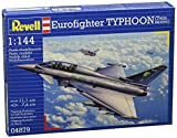 Revell Eurofighter Typhoon (Twin Seater) 1:144 Assembly Kit Fixed-Wing Aircraft - maquetas de aeronaves (1:144, Assembly Kit, Fixed-Wing Aircraft, Eurofighter Typhoon, Military Aircraft, De plástico)