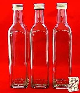 24 leere glasflaschen 250ml mar saftflasche. Black Bedroom Furniture Sets. Home Design Ideas