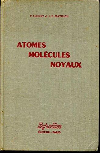 Atomes molecules noyaux