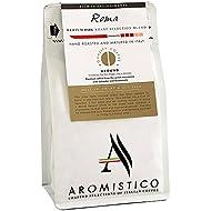 AROMISTICO | Finest Smooth Aroma Medium Roast | Premium Italian Ground Coffee | Roma Blend for Cafetiere French Press, Filter, Pour Over, Drip, Chemex, Moka, Aeropress | Mellow, Sharp, NUT-Like