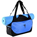 Measurement:Size:18.9*9.4*6.3IN/ 48*24*16CM Weight:1LB/ 0.45KGFeatures:Light, durable and portable ,Strong and washablePerfect to use as a Yoga Mat bag, Kit Bag, Gym Bag, Weekend Bag, Sport Bag, Equipment Bag, Multi Purses use Please note that we are...
