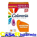 Coloreria Italiana Arancione Pastello Tutto in 1 Sale Incluso - Arancione Pastello