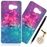 SpiritSun Etui Coque TPU Slim Bumper pour Samsung Galaxy A3 (2016) A310 Souple Housse de Protection Flexible Soft Case Cas Couverture Anti Choc Mince Légère Silicone Cover avec Stylet et Bouchon Anti-Poussière - Dream