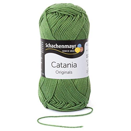 Schachenmayr  Catania 9801210-00212 khaki Handstrickgarn, Häkelgarn, Baumwolle