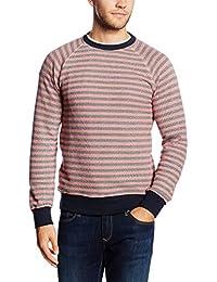 Esprit 056ee2j010 - Striped - Slim Fit - Sweat-shirt - Homme