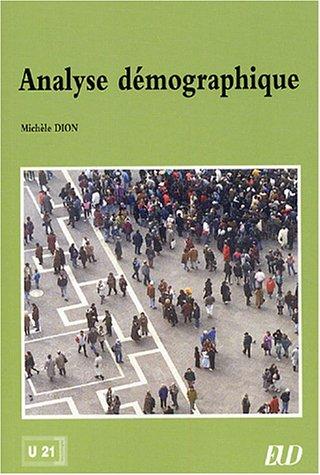 Analyse dmographique