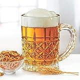 Treo by Milton Maxen Crystal Beer Glass Mug, 630 ml