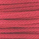 Cordelière en coton 4,5 mm Rouge x 1 m