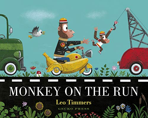 Monkey on the Run por Leo Timmers