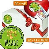 Sternzeichen Waage - Geschenkeverpackungssets - Geschenkidee Oktober