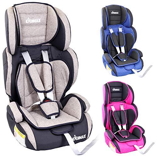 KIDIMAX® Autokindersitz Kindersitz Kinderautositz, Sitzschale, universal, zugelassen