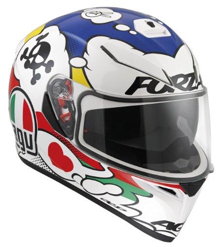 AGV 0301A2E0 Helmet K-3 SV, Mehrfarbig (Comic), 58