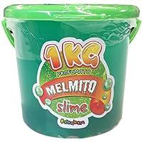 Melmito Slime perfumado de 1 kg - Verde Agua
