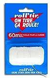 Perfect Match Roll Bogenschießen R tcui Schnur Lebensmittel Polyester, weiß, 60m/30g