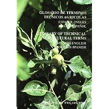 Glosario de terminos tecnicos agricolas español-ingles ingles-español