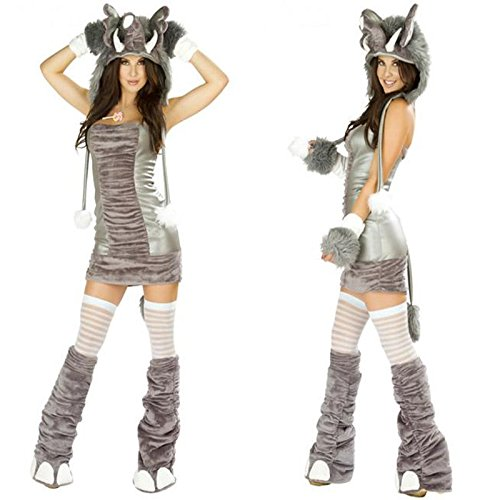 Kostüme Plüsch Tiermodellen Elefanten photography Katze Mädchenkleidung Halloween-Kostüme (Bull Halloween Kostüme)