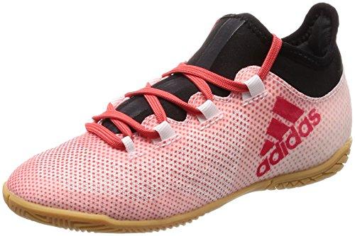 Adidas X Tango 17.3 In J, Zapatillas de fútbol Sala Unisex niño, Gris Gris/Correa/Negbas 000, 28...