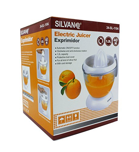 Exprimidor eléctrico de 1,2 litros