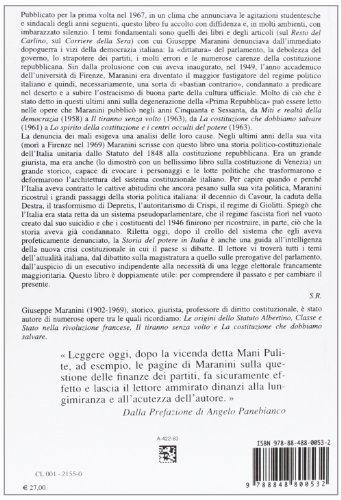 Zoom IMG-1 storia del potere in italia