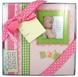 Album à pochettes Innova Baby Memories - 180 Photos 10x15 - Fille