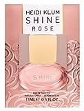 Heidi Klum Shine Rose Eau de Toilette, 15 ml
