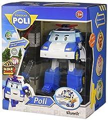 Idea Regalo - Rocco Giocattoli 83094 - Robocar Poli Poli Personaggio Trasformabile con Luci