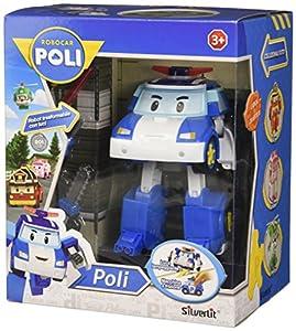 Rocco Juguetes 83094-Robocar Poli Pines personaggio Convertible con Luces